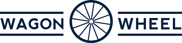 Wagon Wheel Inc. Logo in blue!